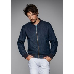 Denim Bomber Jacket DNM Supremacy Men B&C