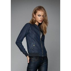 Ladies Denim Bomber Jacket DNM Supremacy Women B&C