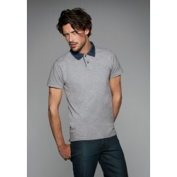 Mens Denim Collar Piqué Polo DNM Forward Men B&C
