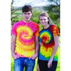 Rainbow Tie Dye T-Shirt unisex 5000TD