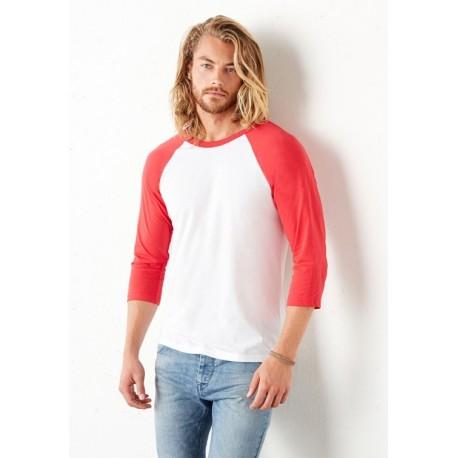 Triblend 3/4 Sleeve Baseball T-Shirt 3200