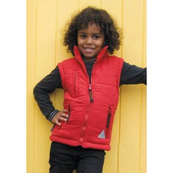 Bodywarmer junior doublé polaire R88J