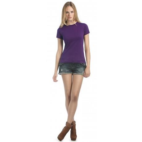 Tee-shirt manches courtes EXACT 190 WOMEN B&C