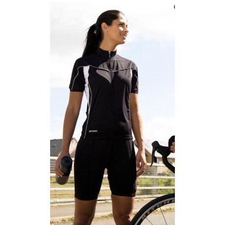 Ladies Bike Full Zip Top S188F