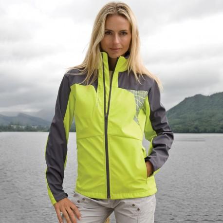 Ladies Team Soft Shell Jacket Spiro S175F