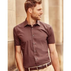 Chemise boutons homme manches courtes